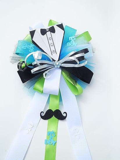 Amazon Tuxedo Mustache Little Gentleman Baby Shower Themed
