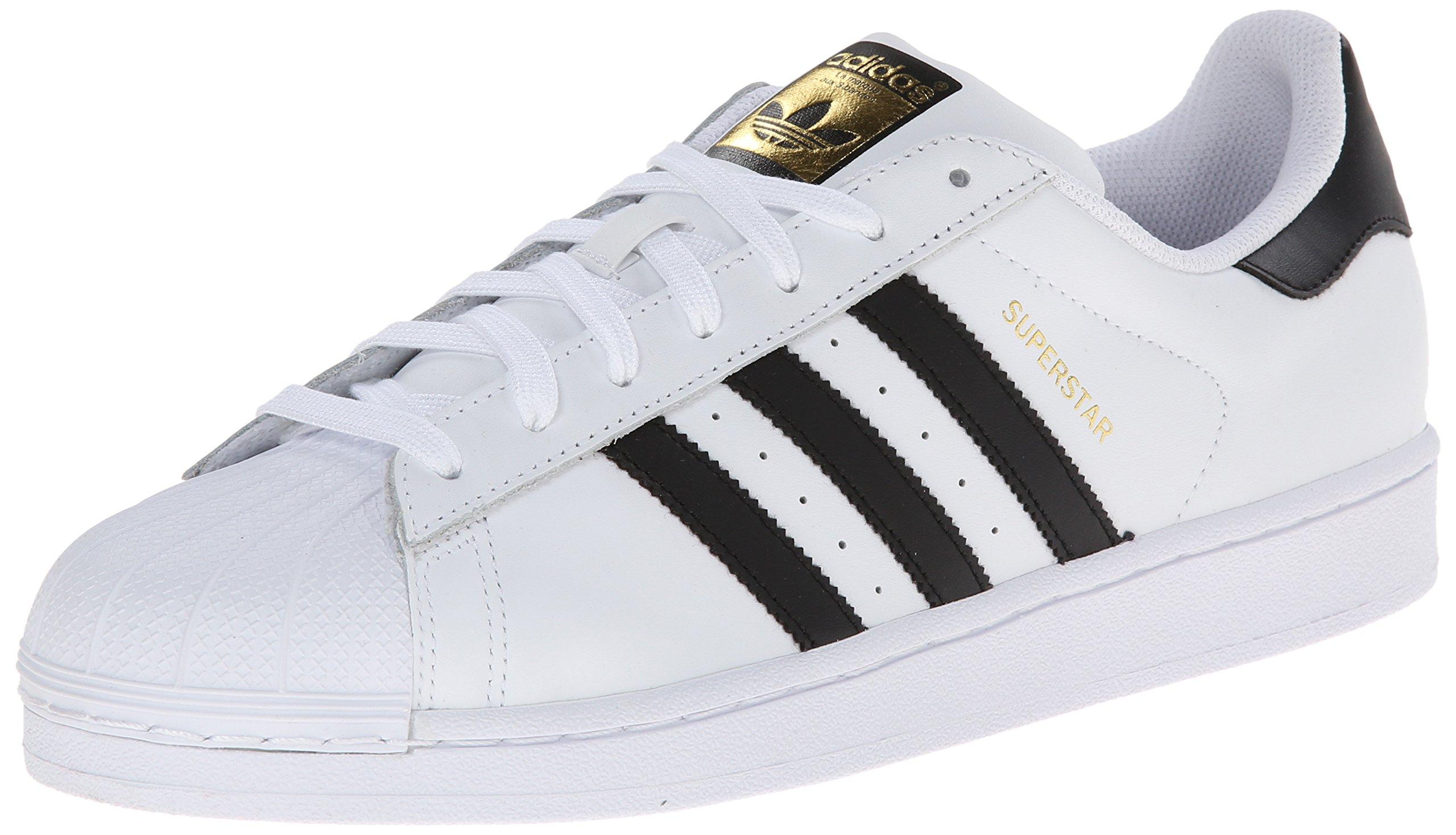adidas Originals Men's Superstar Shoe Running Core Black/White, 11 M US by adidas Originals