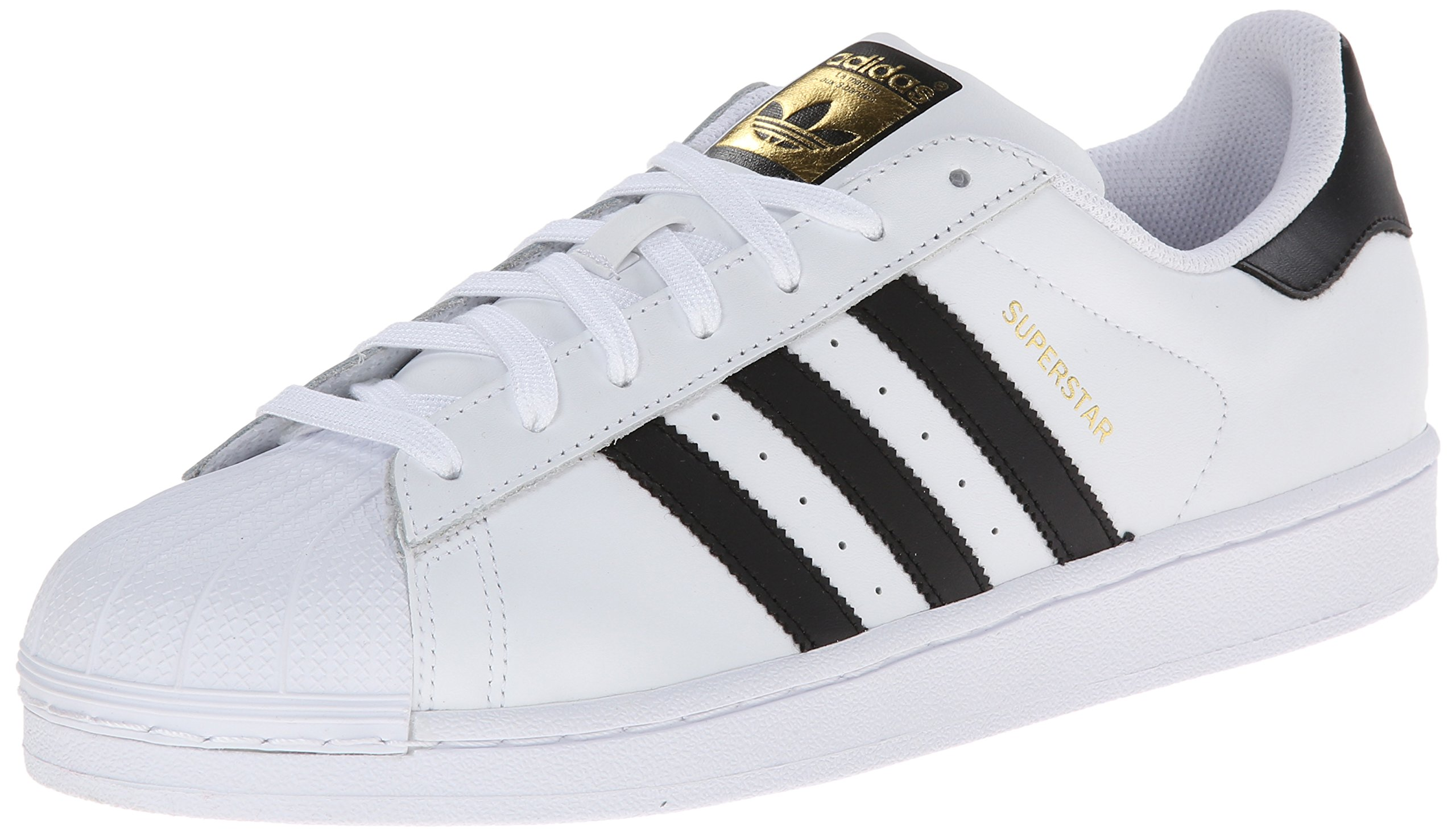 adidas Originals Men's Superstar Casual Sneaker, White/Core Black/White, 4.5 M US by adidas Originals