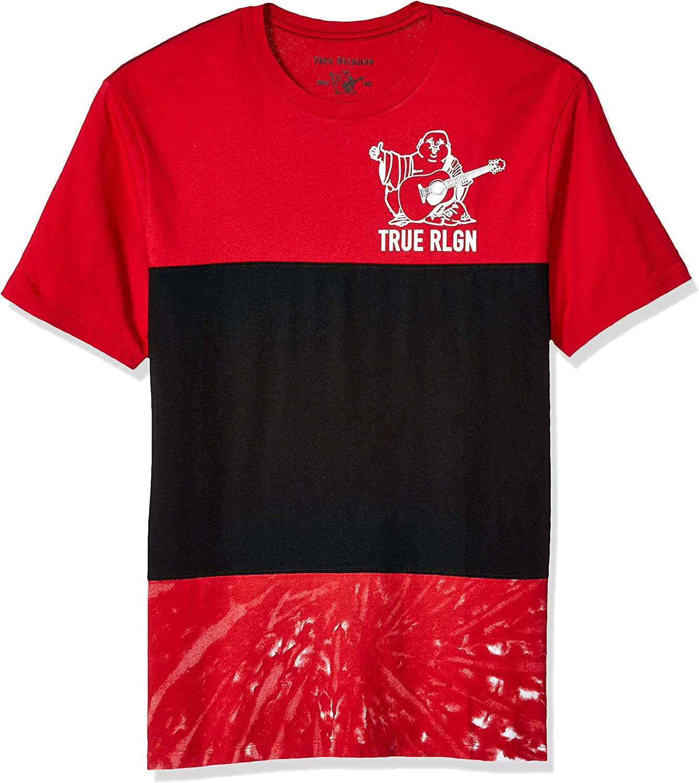 True Religion - Camiseta de Manga Corta para Hombre (3 Corbatas ...