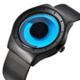 腕時計 メンズ デザイナーズ カジュアルなビジネスファッションステンレスメッシュ防水時計
