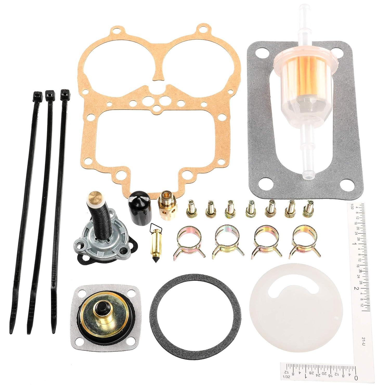 iFJF Carburetor Rebuild Kit for Weber 32 36 DGV DGAV DGEV Carburetor Replaces 92-3237-05 unepart
