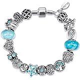 MESTIGE Women Crystal Glacial Bracelet with Swarovski Crystals