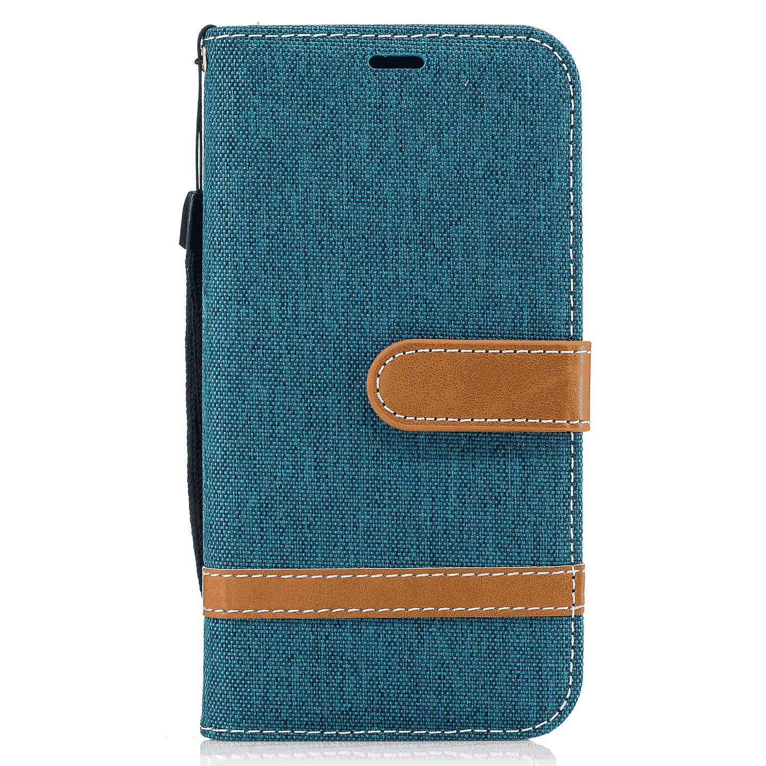 iPhone 7 Flip Case Cover for iPhone 7 Leather Mobile Phone case Kickstand Extra-Protective Business Card Holders with Free Waterproof-Bag Classical