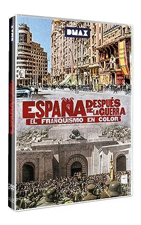 España después de la guerra. El franquismo en color DVD: Amazon.es: Documental, Francesc Escribanoy Luis, Documental: Cine y Series TV