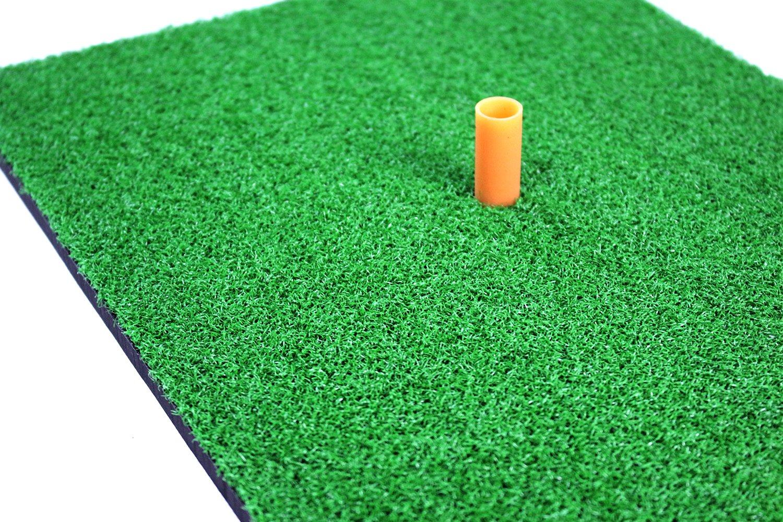 POSMA HM040AA Golf Backyard Golf Mat 12''x24''(30 x 60 CM), 30pcs Multi Color PU Practice Balls, 2pcs Tour Ball, and Cinch Sack Carry Bag by POSMA (Image #4)