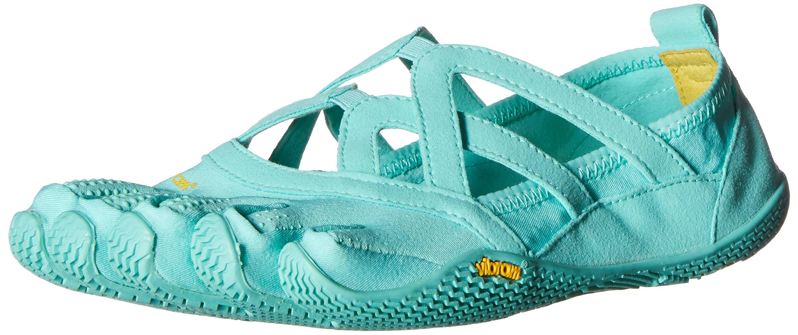 Vibram Women's Alitza Loop Fitness and Yoga Shoe, Mint, 38 EU/6.5-7 M US