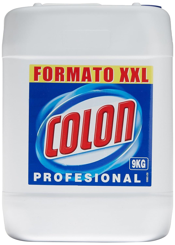 TALLA No concentrado. Colon Azul Profesional Detergente de lavadora Líquido - 9 kg