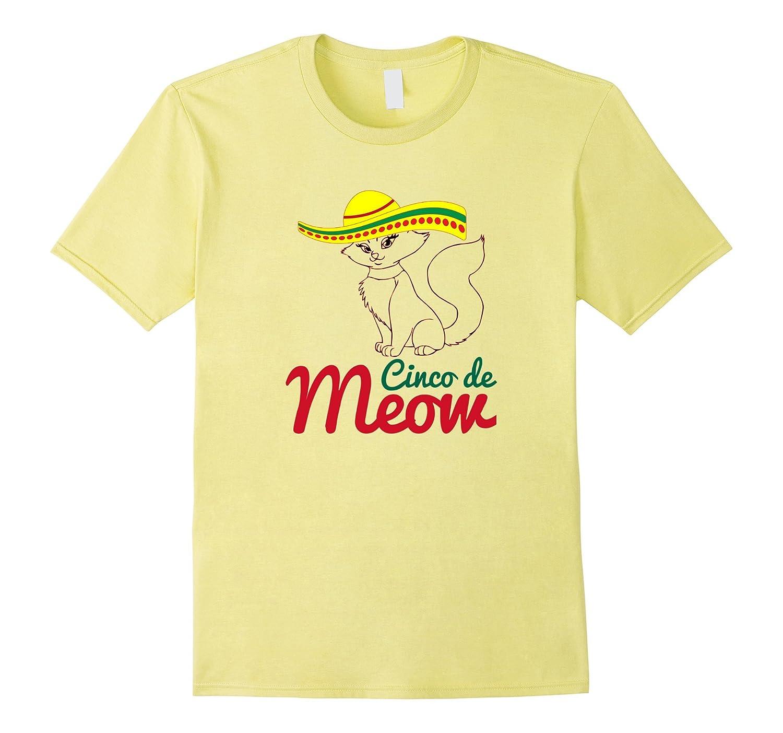 Cinco De Mayo Tees Happy Cinco De Mayo T-Shirt Cinco de Meow-Vaci