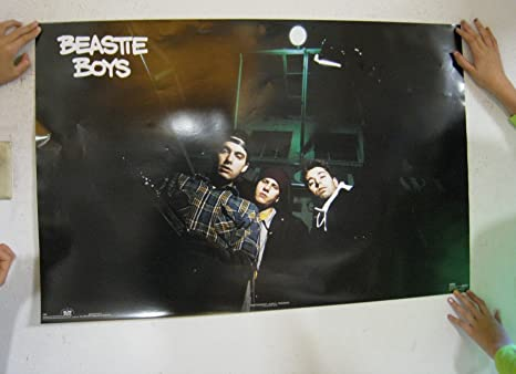 The Beastie Boys Poster Band Shot Vintage