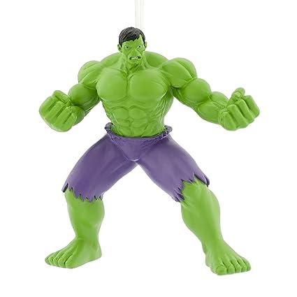 Amazoncom Hallmark Marvel Avengers Hulk Ornament Movies Tv