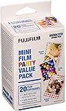 Fujifilm Instax Mini Film Party Value Pack - 20 Exposures
