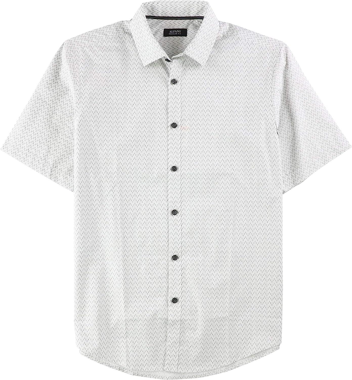 Spirio Men Plus Size Button Down Checkered Loose Fit Pockets Long Sleeve Button Down Dress Shirt