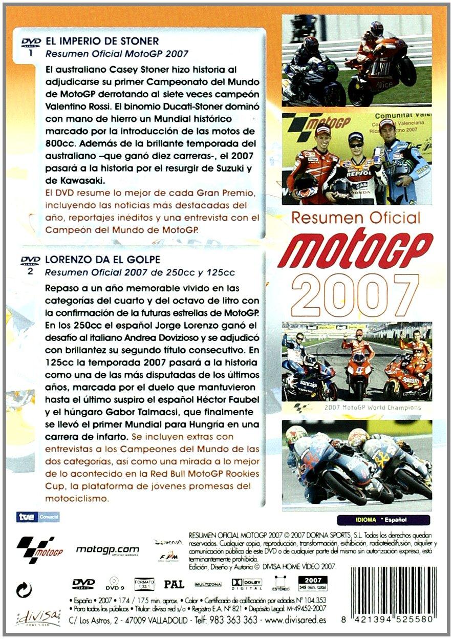 Pack Moto Gp 2007. Resumen oficial. [DVD]: Amazon.es: Varios: Cine y Series TV