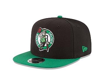 reputable site 93682 8b264 NBA Boston Celtics Men s 9Fifty Original Fit 2Tone Snapback Cap, One Size,  Black