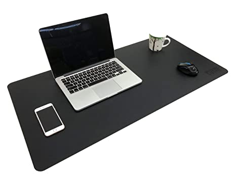 Attirant BUBM Multifunctional PU Leather Office Desk Mat, Table Pad Blotter  Protector 35.5u0026quot;x 15.8u0026quot