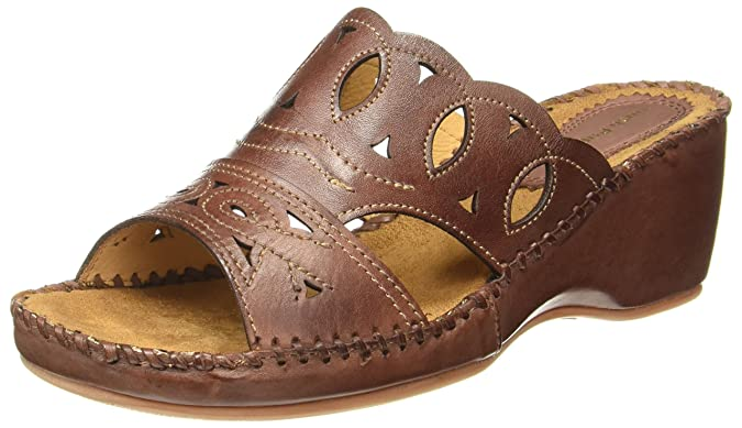 Hush Puppies Women's Amarlysis Jia Leather Fashion Sandals Fashion Sandals at amazon