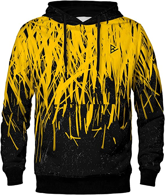 Blowhammer Sweat à Capuche Hoodie Homme Yellow Spark SWD