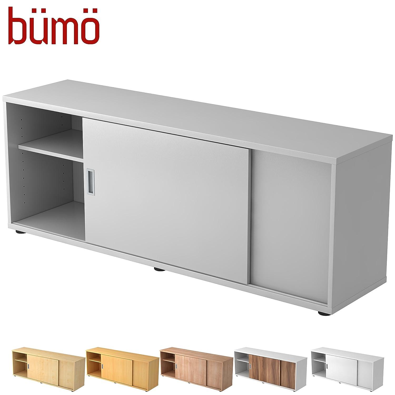 Bümö® Sideboard mit Schiebetür | Büro Schiebetürenschrank | Für ...