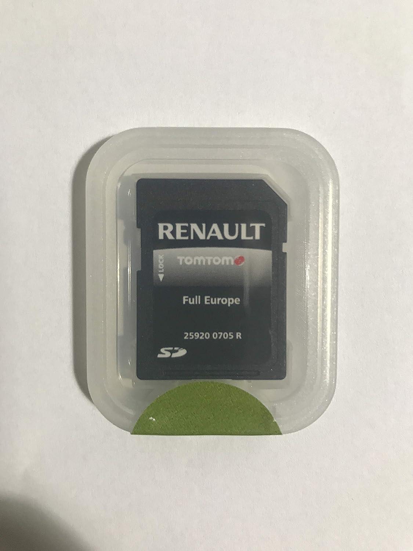 Carte SD GPS Europe 2018-10.05 - Renault R-Link HERE