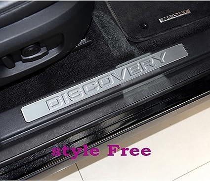 4/x acero inoxidable umbral de la puerta embellecedores de Land Rover Discovery Sport 2014/ /2016