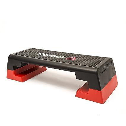 4d90f5951945c Reebok Step Steppbrett Schwarz Rot