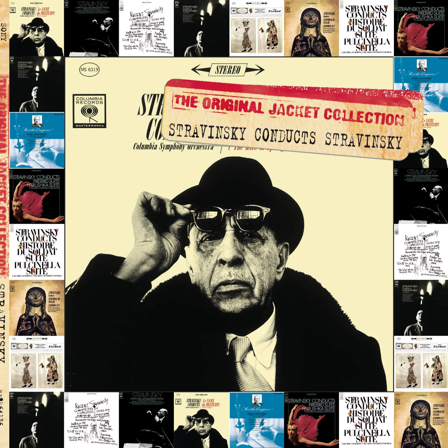 Stravinsky Conducts Stravinsky (The Original Jacket Collection) by Sony Classical