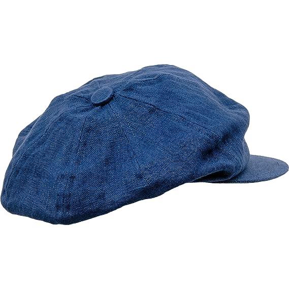 bf1f9233a16 Sterkowski Summer Linen Newsboy Cap  Amazon.co.uk  Clothing