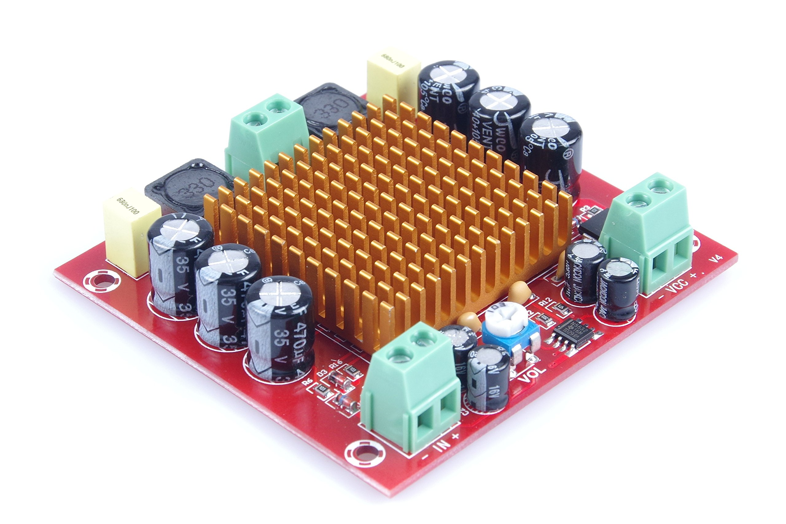 LM YN TPA3116 D2 Mono Channel Digital Amplifier Board NE5532 150W Max Preset Amplifier System Digital Power Amplifier Board DC12 - 26V