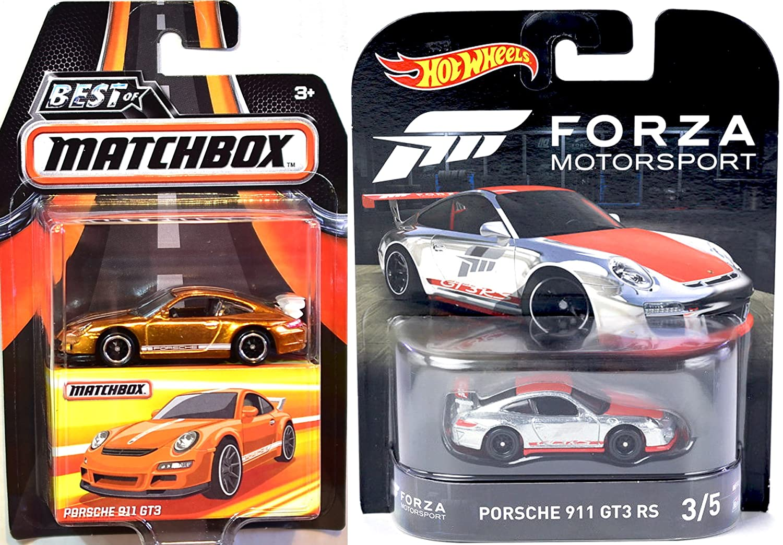 Amazoncom Hot Wheels Forza Motorsport Porsche 911 GT3 RS Real