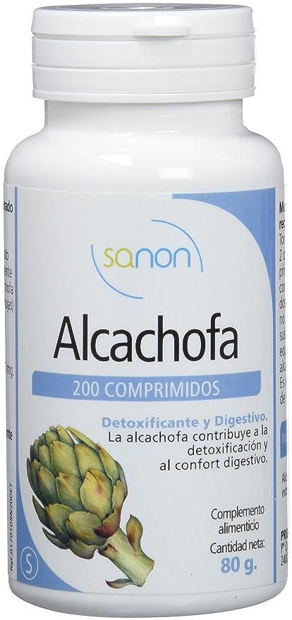 Sanon Alcachofa - 2 Paquetes de 200 Cápsulas