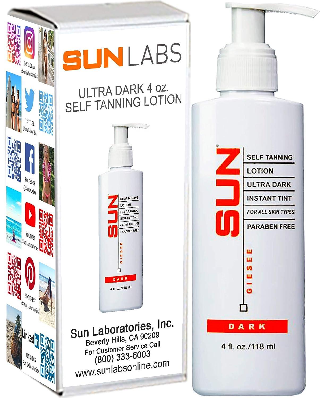 Sun Labs Self-Tanning Lotion, 4 oz., Ultra Dark by Sun Labs