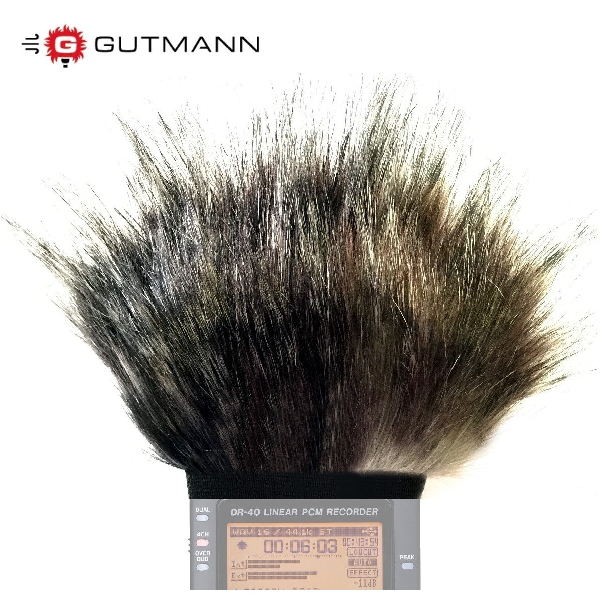 Gutmann Microphone Windshield, Windscreen for Tascam DR-40 / DR-40 V2 Digital Recorder - Special Model MERCURY (Limited Edition) by Gutmann