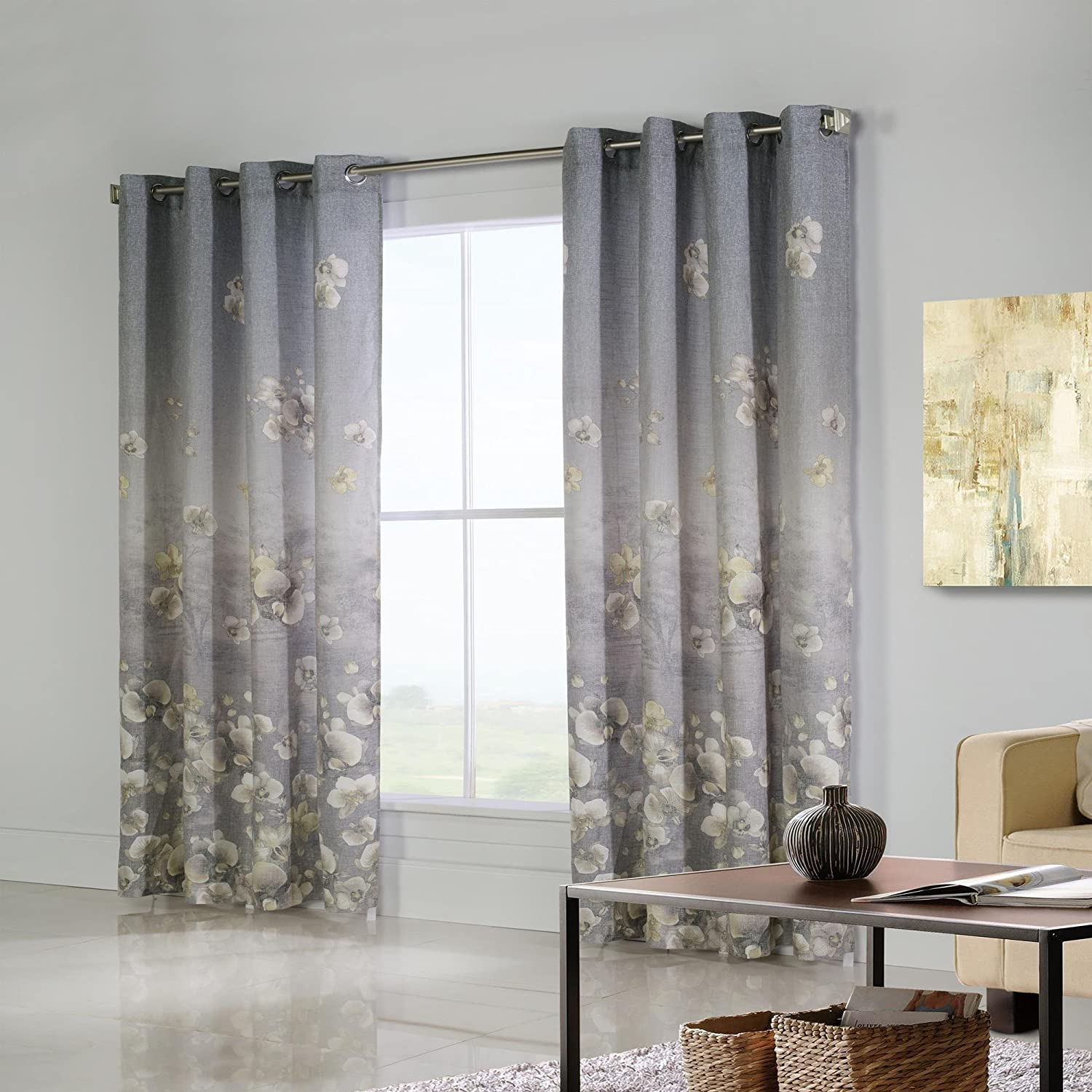 Commonwealth Home Fashions 71326-109-84-201 Chamberlain printed panel, 5463 inches
