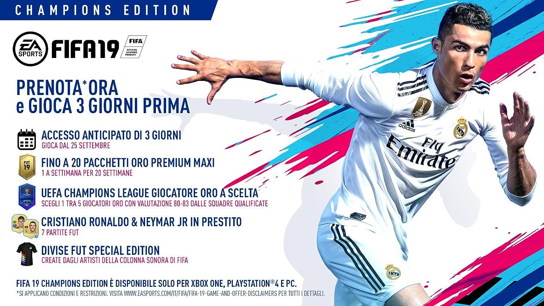 FIFA 19 - Champions Edition - PlayStation 4: Amazon.es: Videojuegos