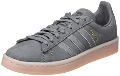 sports shoes 5849d 7379e adidas Damen Campus W Fitnessschuhe Mehrfarbig (Grey F17 Grey Three  F17 Icey Pink