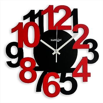 Buy Random Bold and Beautiful Wood Wall Clock 38 cm x 38 cm x 5