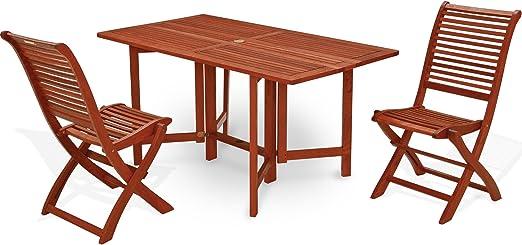 Table rectangulaire pliante 74 x 150 x 80 table de jardin ...