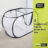 Smart Design Deluxe Mesh Pop Up 2 Compartment