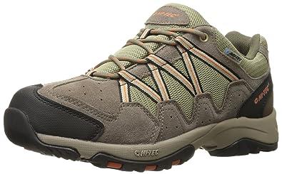 Hi-Tec Men's Dexter Low Waterproof Multisport shoe, Smokey Brown/Burnt  Orange,