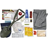 Lifeline 4390 AAA Severe Weather Emergency Road Safety Kit - 66 Pieces - Featuring Emergency Folding Shovel, Fleece Set, Fire
