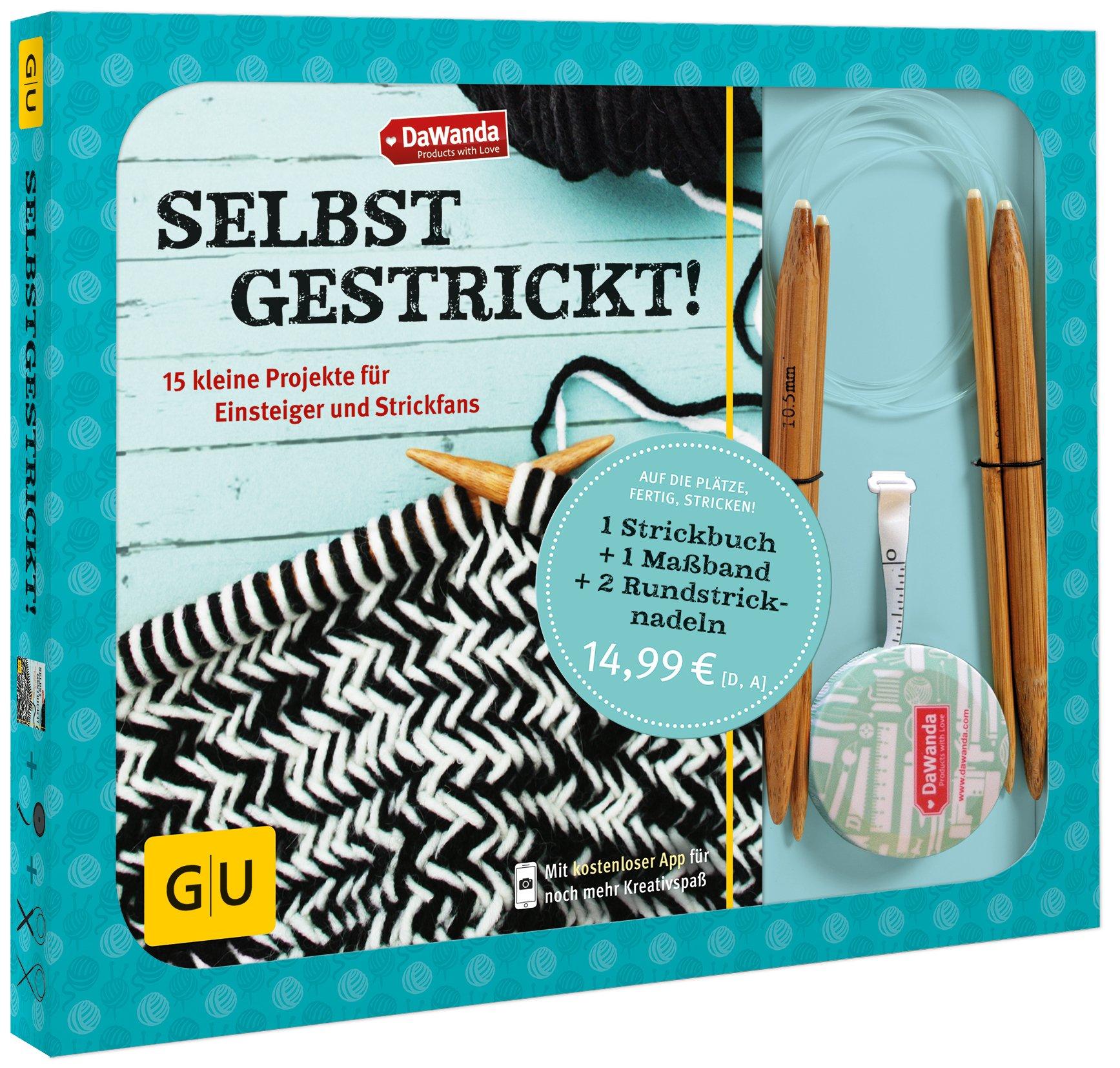 Set: DaWanda: Selbstgestrickt!: 15 kleine Projekte für Einsteiger und Strickfans (GU Kreativ Spezial)