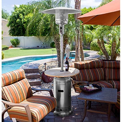 Charmant AZ Patio Heaters Outdoor Patio Heater In Hammered Silver