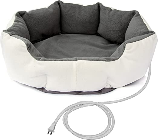 Thermo-Pad Heated Dog Bed