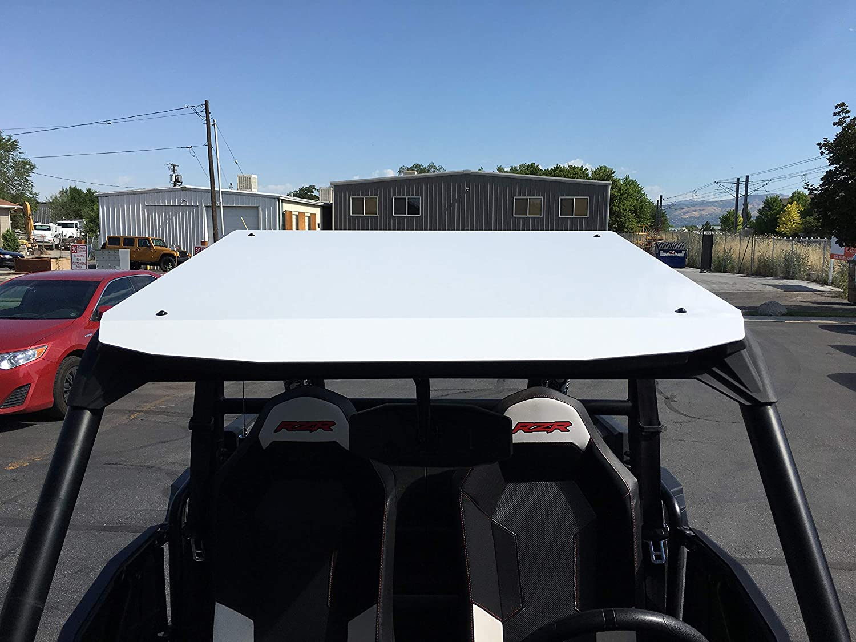 900 Polaris RZR Aluminum Roof for 2 Seat RZR 1000 Lime Squeeze TURBO