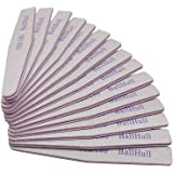 BallHull 50PCS Nail Files Double Sided Emery Board Grit 100 180 Grit Nail File Apply Nail Art DIY.
