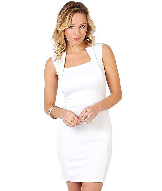Vestido Corto Ajustado (9410-CRM-10)