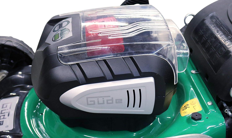 Güde batería Cortacésped 405/40 - 2.5s, Verde, Negro: Amazon ...