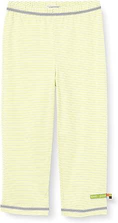 loud + proud Light Striped Pant Organic Cotton Pantalones para Bebés