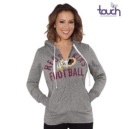 new style 7e83b 27027 G-III Sports Washington Redskins Women's Post Season Full Zip Hooded  Sweatshirt